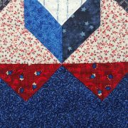Quilted Patriotic Table Runner