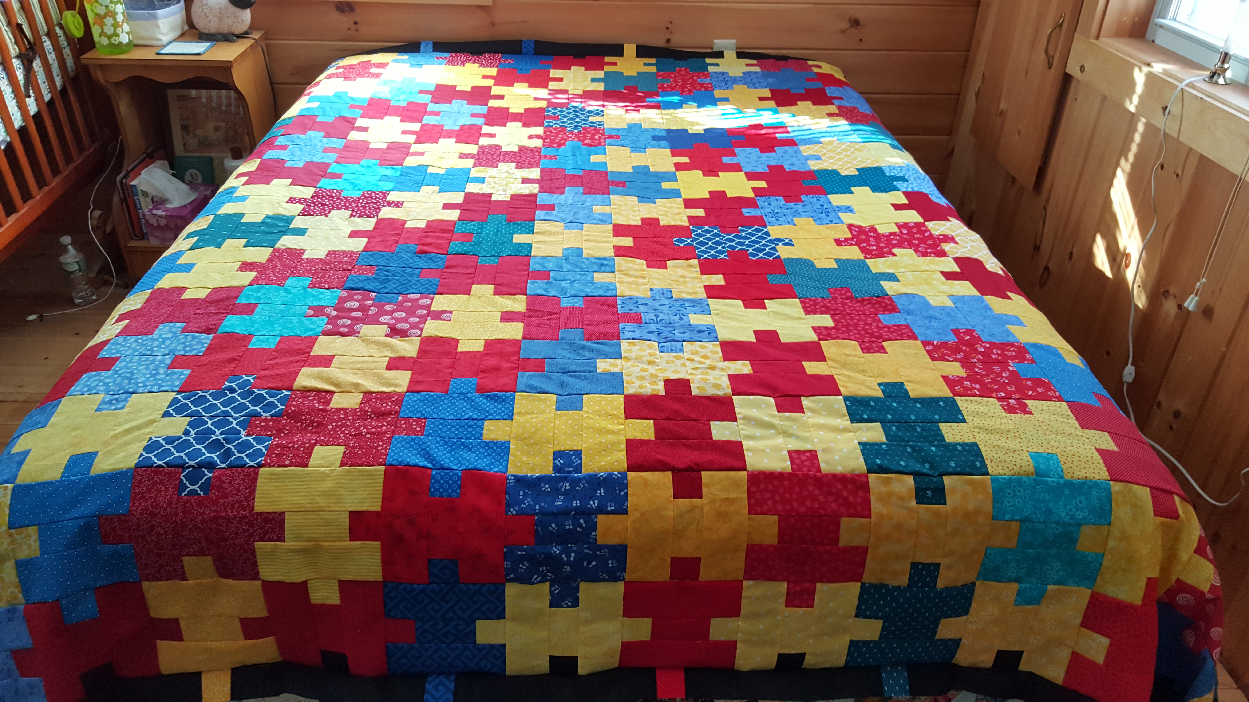 Jigsaw Puzzle Quilt Pattern Pdf File Maine Quilt Company
