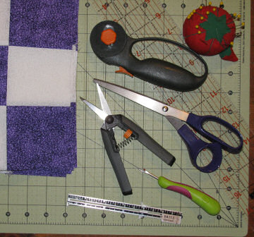 Some simple quilting tools