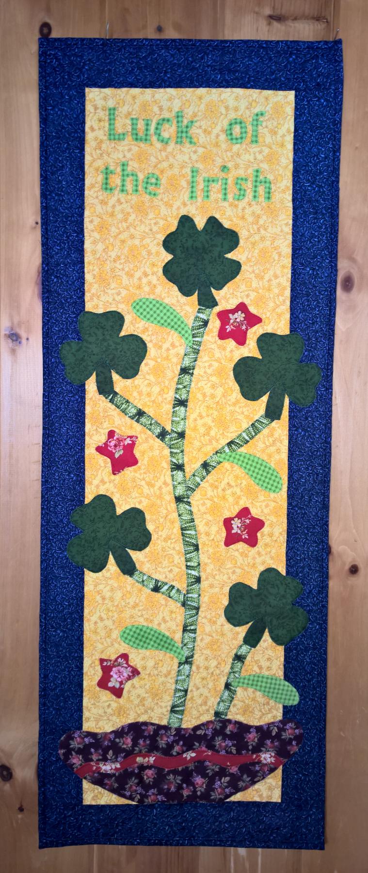 Luck of the Irish Table Runner