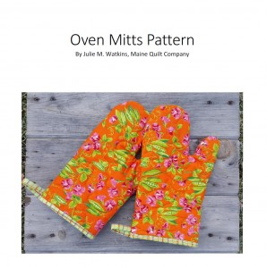 Quilted Oven Mitts PDF Pattern