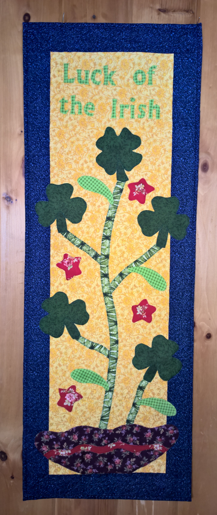 Luck of the Irish Table Runner